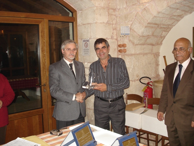 The U.B.I. award granted to Mr. Angelo Attinà